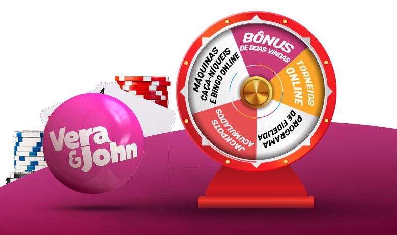 Vera&John Bônus para Casino
